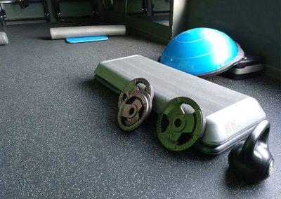 Sala 2, entrenamiento con peso